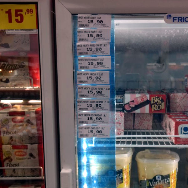 Etiqueta de Freezer