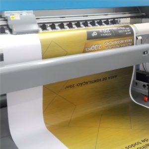Impressão Digital em Adesivo