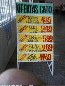 Cartazes Supermercado